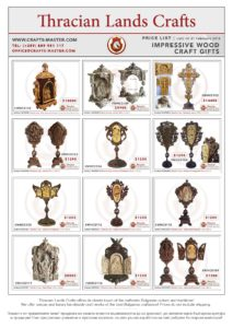 IMPRESSIVE WOOD CRAFT GIFTS | Price List Page 5